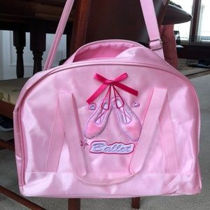 Accessories - Super cute Ballet/dance zipper bag